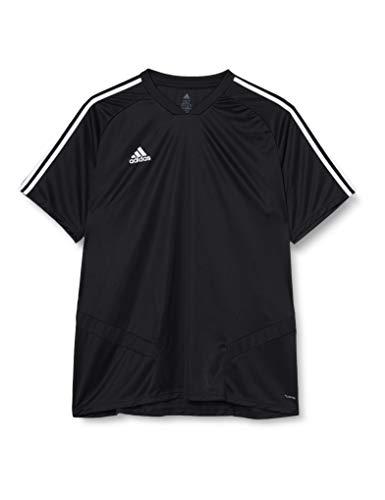 adidas Tiro 19 Camiseta Entrenamiento, Hombre, Negro (Black/White), M