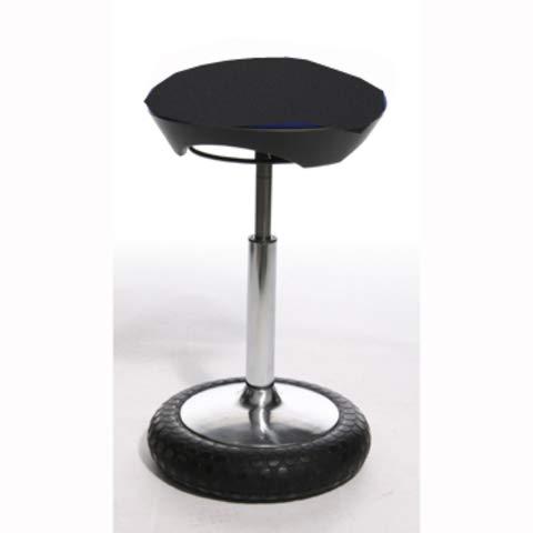 TOPSTAR® Hocker Sitness 21, Polyester, 40 x 60-80 cm, schwarz, Sie erhalten 1 Stück