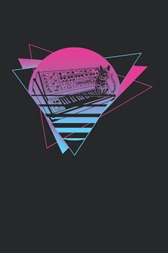 Kalender 2022: Modularer Synthesizer Analog Vaporwave Techno Cat Terminkalender DIN A5 Organizer mit 120 Seiten | Notizbuch Terminplaner Wochenkalender Jahresplaner Jahreskalender