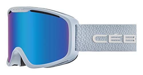 Cébé Falcon Skibrillen voor volwassenen, uniseks, mat blauw, medium