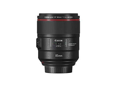 Canon Porträtobjektiv EF 85mm F1.4L IS USM für EOS (Festbrennweite, 77mm Filtergewinde, Autofokus, Bildstabilisator) schwarz