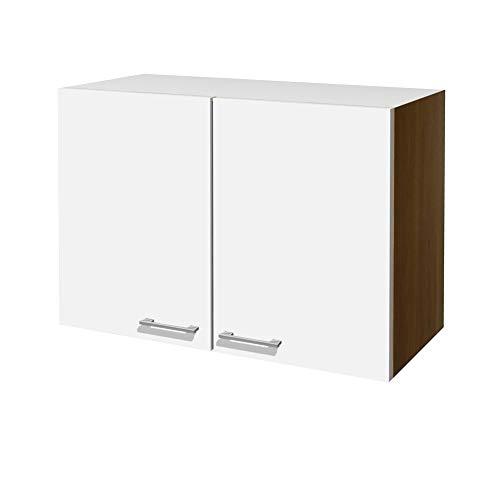 Flex-Well Küchen-Hängeschrank COSMO - Oberschrank - 2-türig - Breite 80 cm - Weiß