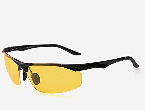 Gafas de visión nocturna polarizadas y nocturnas para deportes al aire libre