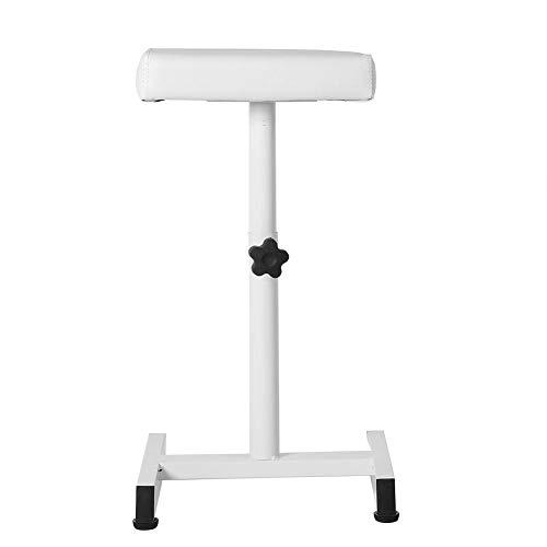 Greensen Reposapiés de pedicura, altura ajustable, silla de pedicura, silla de descanso, silla de salón de belleza, pedicura, taburete de pedicura, taburete de pedicura, taburete (blanco)