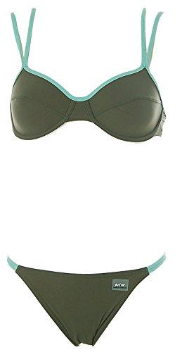 Maui Wowie Damen Bügel Bikini Khaki 36 Cup B