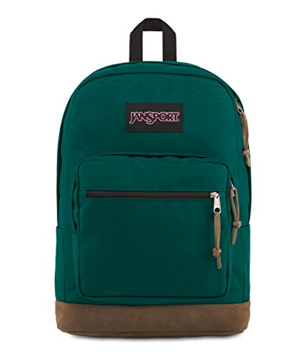 JanSport Right Pack 15 Inch Laptop Backpack - Any Occasion Daypack, Mystic Pine
