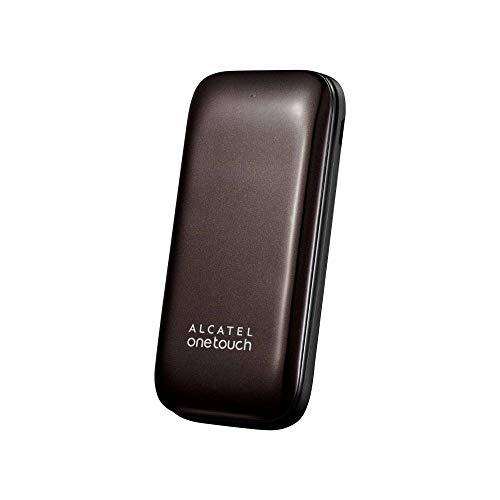 Alcatel Onetouch 1035 Dual SIM - Móvil libre (pantalla 1.8', 3 MB, 24 MB RAM, teclas grandes), chocolate