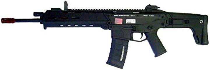 Fucile softair a&k airsoft softair 0.9 joule a&k fucile elettrico masada-2 nero (masada-2b) B07RXLB4BH