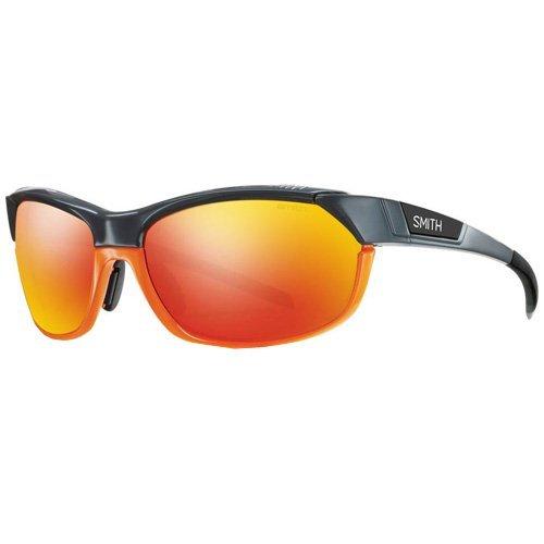 SMITH Overdrive/N 6Q 1Tx 61 Gafas de Sol, Unisex Adulto, Gris (Grey Orange/Ao+Zb+99)