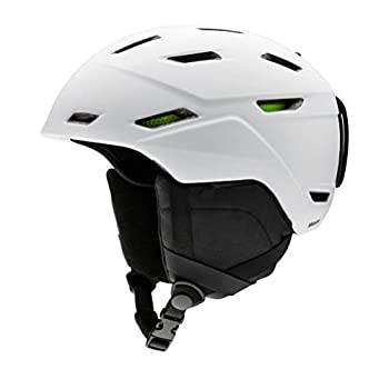 Smith Men s Mission Snow Helmet Matte White XL