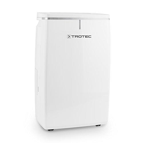 TROTEC Komfort Luftentfeuchter TTK 53 E (max.16 L/Tag), 2 Gebläsestufen, farbiger LED-Beleuchtung, geeignet für Räume bis 78 m³ / 31 m²