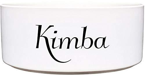 Cadouri Keramik Hundenapf ︎ personalisiert ︎ mit Name deines Hundes┊Futternapf Wassernapf - 650 ml