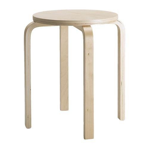 Unbekannt IKEA FROSTA Hocker aus Birkensperrholz