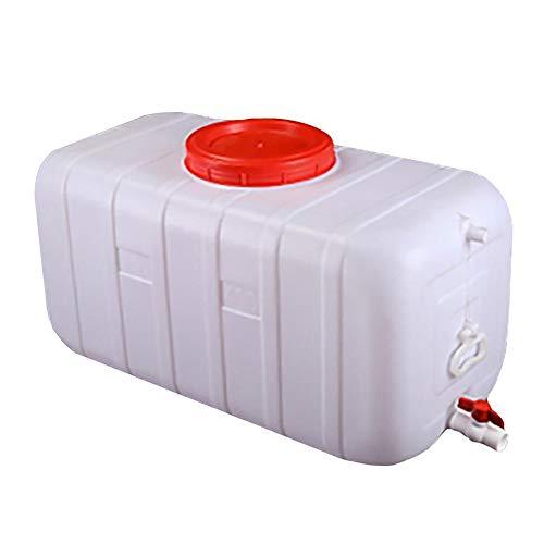 JB-ST 300L Große Kapazität Wasservorratsbehälter |Home Lebensmittel Grade Große Plastikeimer |Outdoor-Camping-Wagen Wassertank Mit Deckel Und Ventil |Anti-Aging | -20°C to +70°C (Size : 200l)