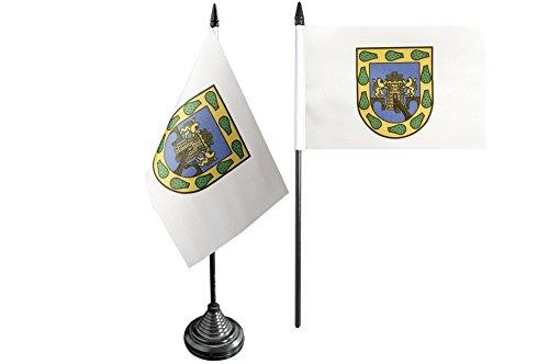 Flaggenfritze Tischflagge/Tischfahne Mexiko Stadt + gratis Aufkleber