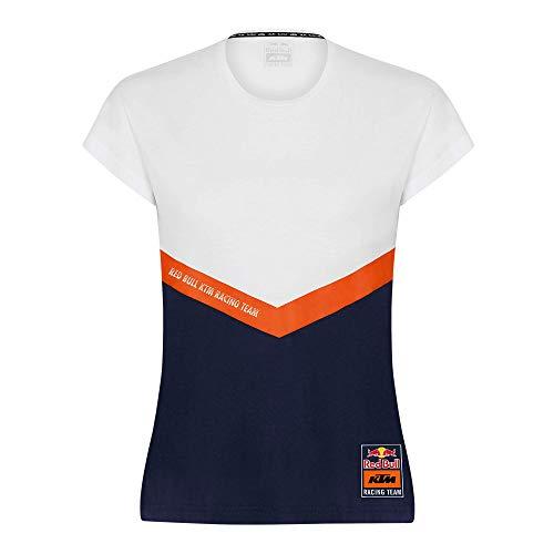 Red Bull KTM Fletch T Shirt, Donna X-Small - Abbigliamento Ufficiale