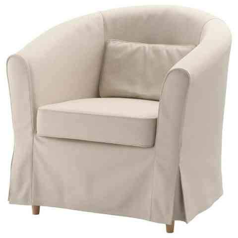 IKEA EKTORP TULLSTA Slipcover for Chair Armchair (Cover Only) Lofallet Beige