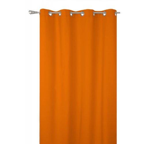 UNIVERS-DECOR Rideau occultant Orange 140 x 260 cm