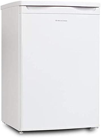 CONGELADOR MILECTRIC VERTICAL FRV-87 (80 Litros, Alto 85 cm, Vertical, Luz interior LED, control de temperatura ajustable, A++/E)