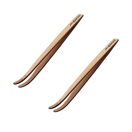 TOMMYFIELD 爬虫類用ピンセット ピンセット 爬虫類 両生類 竹製 竹 餌 トカゲ 28cm 2個