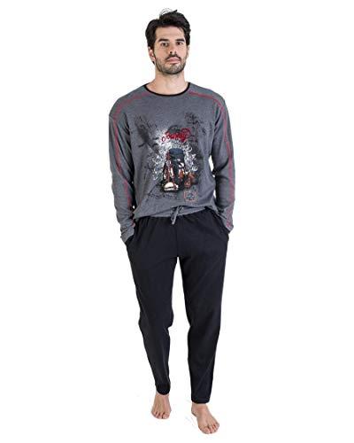 MASSANA - Pijama de Invierno Journey - Antracita, XL