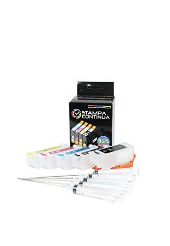 Cartuchos Recargables Epson Xp 900 Marca Stampa Continua
