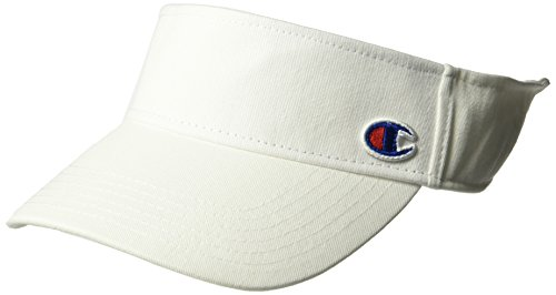 Champion Men's Father Visor, white, OS