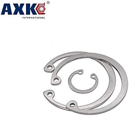 C Snap Ring - Ochoos M3//M4//M5//M6//M7-40PCS GB894.304 Stainless Steel Shaft with a Retaining Ring Inner Diameter: M7 Retaining Snap Ring