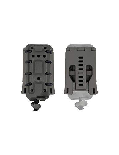 Dragonpro - DP-PP002-016 45 ACP Polymer mag Pouch (Belt) Wolf Grey