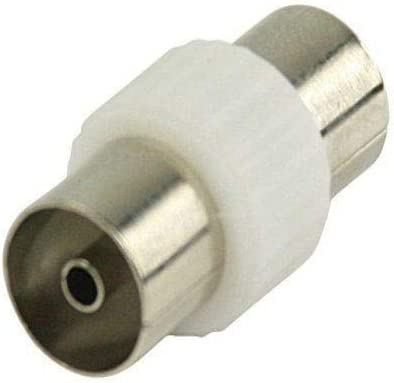 Adaptador Antena Macho Blanco, Cablepelado®