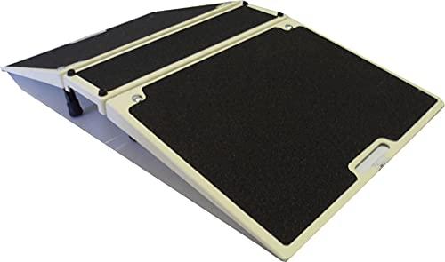 Rampe pliante pour seuil (hauteurs réglables de 7,5 à 15 cm) (L...