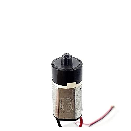 XIUXIU RainYun Motor de Engranajes planetario N20 DC 3V-6V Micro Mini Motor Caja de Engranajes para Cerradura de Puerta Electrónica Belleza Pie de pestañas Facebofer Masajeador