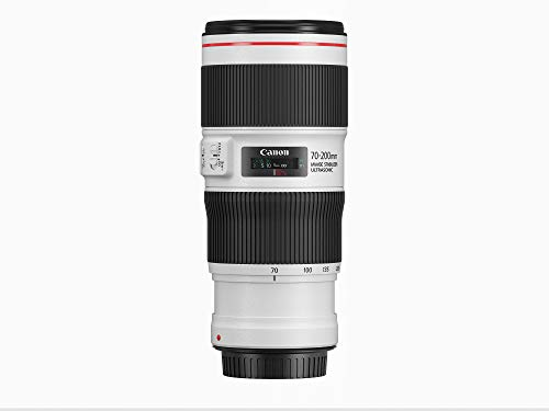 Canon EF 70-200mm F4L IS II USM lens (72 mm filterschroefdraad) zwart