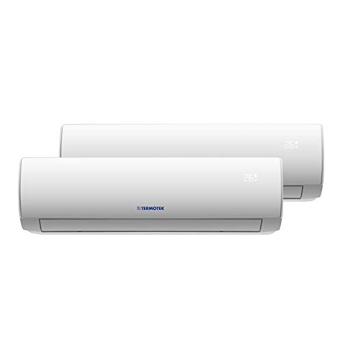 TERMOTEK AIRPLUS C9+12 - AIRE ACONDICIONADO DOUBLE SPLIT 9000+12000 BTU INVERTER A++ WIFI READY R32