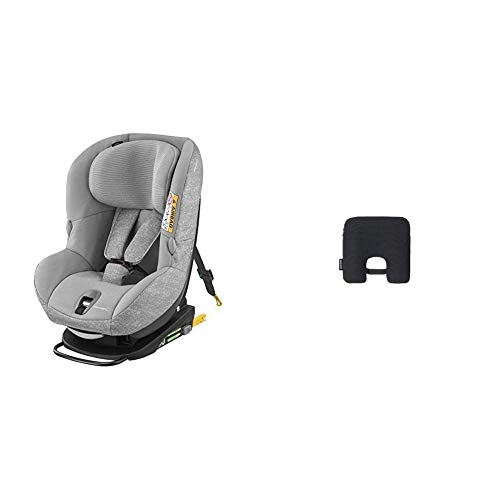 Bébé Confort Seggiolino Auto con dispositivo antibbandono Milofix, Nomad Grey, Seggiolino Auto isofix 0-18 Kg Reclinabile + Sensore anti abbandono E-Safety