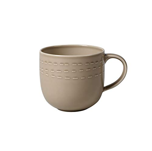 Villeroy & Boch 10-4256-1571 it's my moment Tasse, Premium Porcelain, Almond