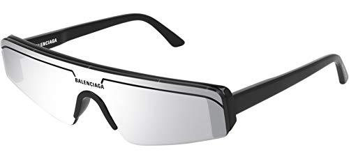 Gafas de Sol Balenciaga BB0003S BLACK/SILVER 99/1/140 unisex