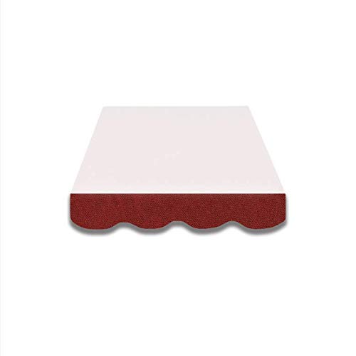 VANA 4m Markisenvolant Markisenstoff fertig genäht mehr Farbauswahl (SPD003)