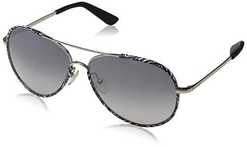 Etro ET100S 006 61 Gafas de sol, Black&White Paisley, Unisex