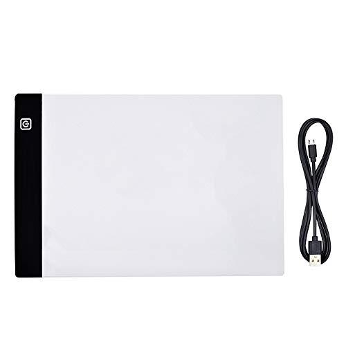 WXGZS Digitale A4 LED Zeichnung Tablet Grafiktabletts LED Light Box Copy Board Elektronische USB Kunst Graphics Pad Schreibtisch
