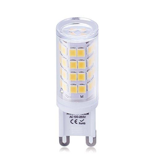 G9 LED-lamp, geen flakker, AC 100-240V, 3W, 390LM, warmwit 3000K, 83Ra, vervangt 40W halogeen voor plafondlamp, kroonluchter, spiegellamp, 300 ° stralingshoek