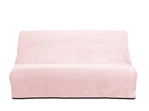 Fodera divano clic-clac in cotone PANAMA rosa