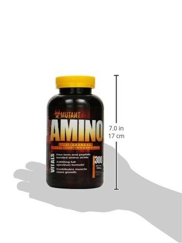 Mutant Amino – 300 Caplets, 1er Pack (1 x 390 g) - 4