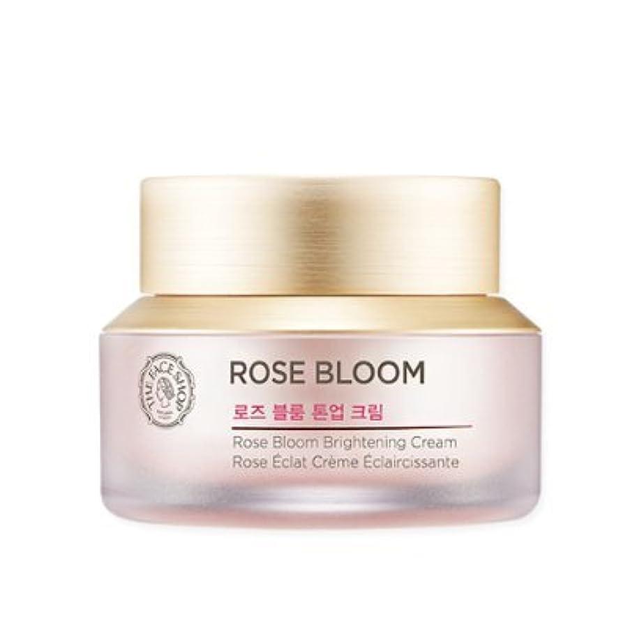 特徴づけるグレード修正THE FACE SHOP Rose Bloom tone-up cream ザフェイスショップ ローズブルームトン - アップクリーム [並行輸入品]