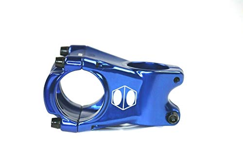 Blue Cusp Mountain Bike Stem - 45, 55 and 65mm Bar 35 mm - 1 1/8 | Goshen Online Store (55mm)
