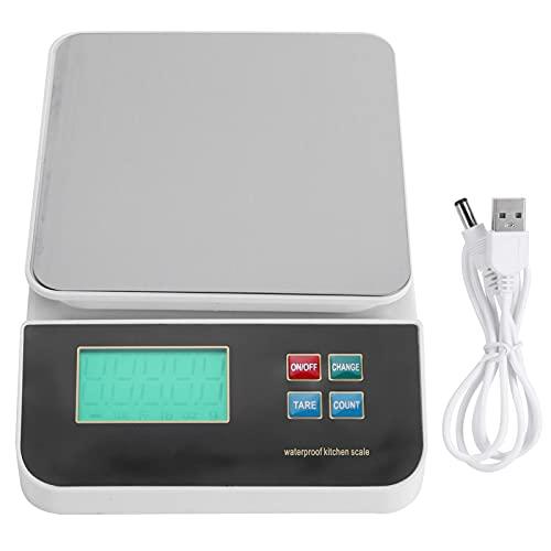 minifinker Balanza Electrónica De Cocina - Balanza Electrónica Profesional - Interruptor De Unidad g/Catty/Oz/LB - para...