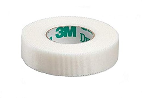 3M Durapore Surgical Tape 1/2'X10Yard Roll Silk Hypoallergenic - Pack of 2 Rolls- Model 1538-0
