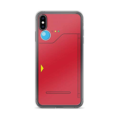 turtleshel Pokedex Case Cover Compatible for iPhone (XR)