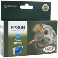 Epson T0792 Patrone Tinte cyan Stylus Photo 1400