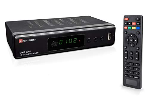 Receptor de Cable Digital Full HD DVB-C/C2 para Todos los pr